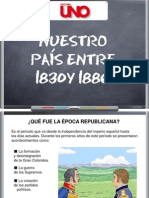 Colombia Entre 1830 y 1886