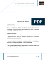 Organismos Internacionales de Normatizacion