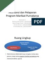 Akuntansi Dan Pelaporan Program Manfaat Purnakarya