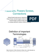 Fasteners, Powers Screws, Connections.ppt