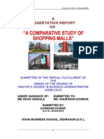 A Comparative Study of Shopping Mall