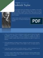 Propuesta Administrativa de Frederick Taylor y La Administración General de Henry Fayol y Sus 14 Principios