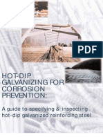 AGA - A Guide to Specifying and Inspecting Hot-dipped Galvanized Steel