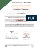 """Programa Del Encuentro """"La economia de los trabajadores 2014"""""""