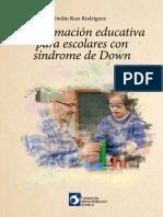 Libro Emilio Ruiz sindrome de down