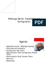 SOA Administrator Training Weblogic Server Installation