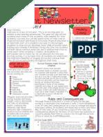 kin 425 parent newsletter