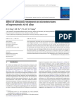 Effect of ultrasonic treatment on microstructures of hypereutectic Al–Si alloy.pdf