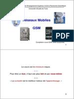 Reseaux Mobiles Chapitre 1 GSM