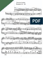 Sonatas 016-030