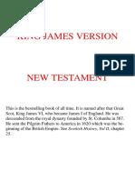 King James Version Bible - New Testament