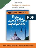 Esta Noche Dime Que Me Quieres Federico Moccia
