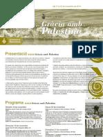 Setmana Cultural Gràcia Amb Palestina