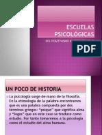 ESCUELAS PSICOLÓGICAS