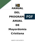 Manual de Mayordomía
