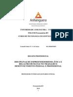 Universidade Anhanguera Desafio Profissional