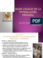 Bases Legales EP Psicoprofilaxis