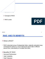 What is RAID? Benefits of RAID Concepts of RAID RAID