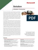 Wearable Solution for d70e Data Sheet En