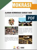 Poster CEPP - Demokrasi