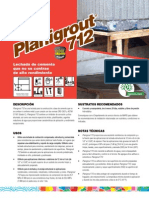 Planigrout712TDS