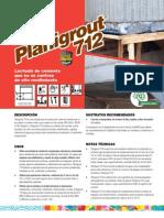 Planigrout712TDS