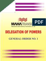 Delegation of Power