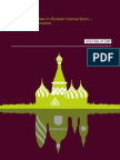 Use of English Law in Russian Transactions a Comparative Review