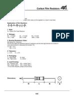 K48-50 Carbon Film Resistors