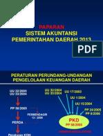 MAKALAH PAPARAN SISTEM AKUNTANSI PEMDA 2012.ppt