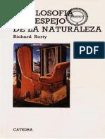 Rorty_Richard_La Filosofía y El Espejo de La Naturaleza