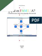 ¿Qué Es Familia?