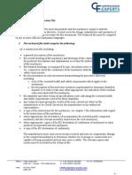 Technical Construction File - User Instructions - EC DoC Explanation 040713