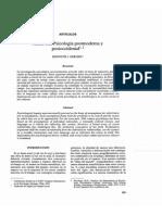 Hacia Una Psicología Postmoderna y Postoccidental Gergen