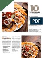 EatingWell Top 10 Salad Recipes Cookbook