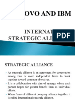 International Strategic Alliance Between (2)
