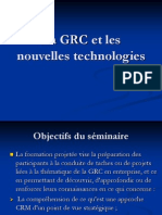 La GRC Et Les Nouvelles Technologies