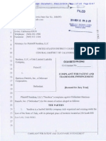 Sundesa v. Harrison-Daniels - Complaint