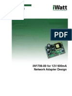 IW1706-00 for 12V 600mA Network Adapter Design