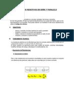 Lab.1 Circuitos Resistivos Serie Paralelo