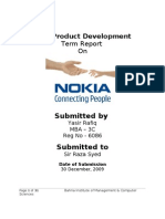 New product development Of Nokia