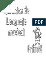 Ejercicios de Lenguaje Musical 1