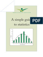 A Simple Guide to Statisctics