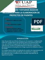 Estudios Basicos para Puentes