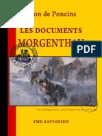 Documents Morgenthau (Léon de Poncins)