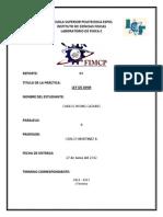 Reporte#4 - Ley de Ohm