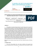 Development of Integrated Bioremediation and Anaerobic Digestion Process Using