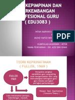 Asas Kepimpinan & Perkembangan Profesional Guru ( Edu3083