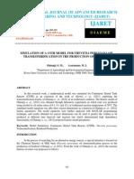 Simulation of a Cstr Model for Thevetia Peruviana Oil Transesterification in The