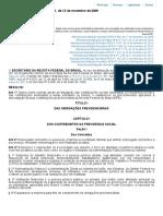 Instrução Normativa RFB Nº 971, De 13 de Novembro de 2009
